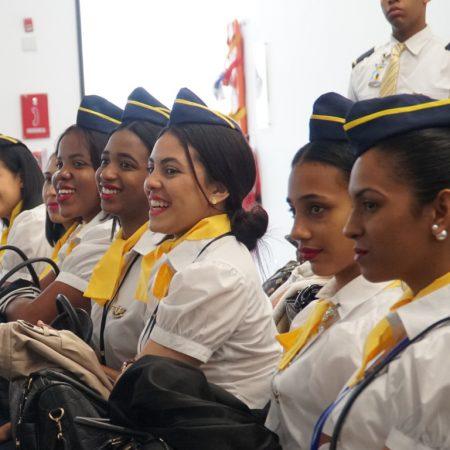 Tripulantes de cabina para aviones ejecutivos